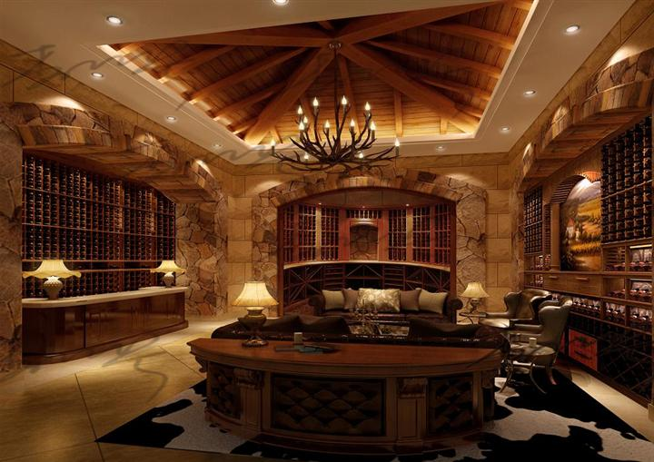 墙体结构 审查您的平面图上的位置,并确定酒窖门的位置,确保您的设计